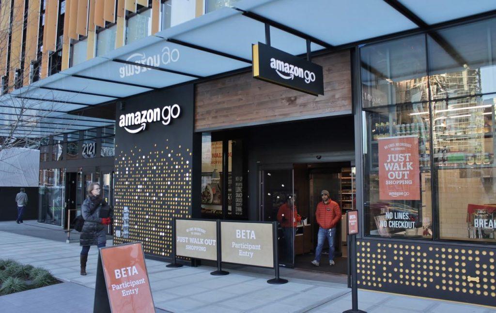 Amazon Go Store Front